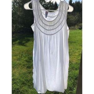 Longtime Sun White Dress